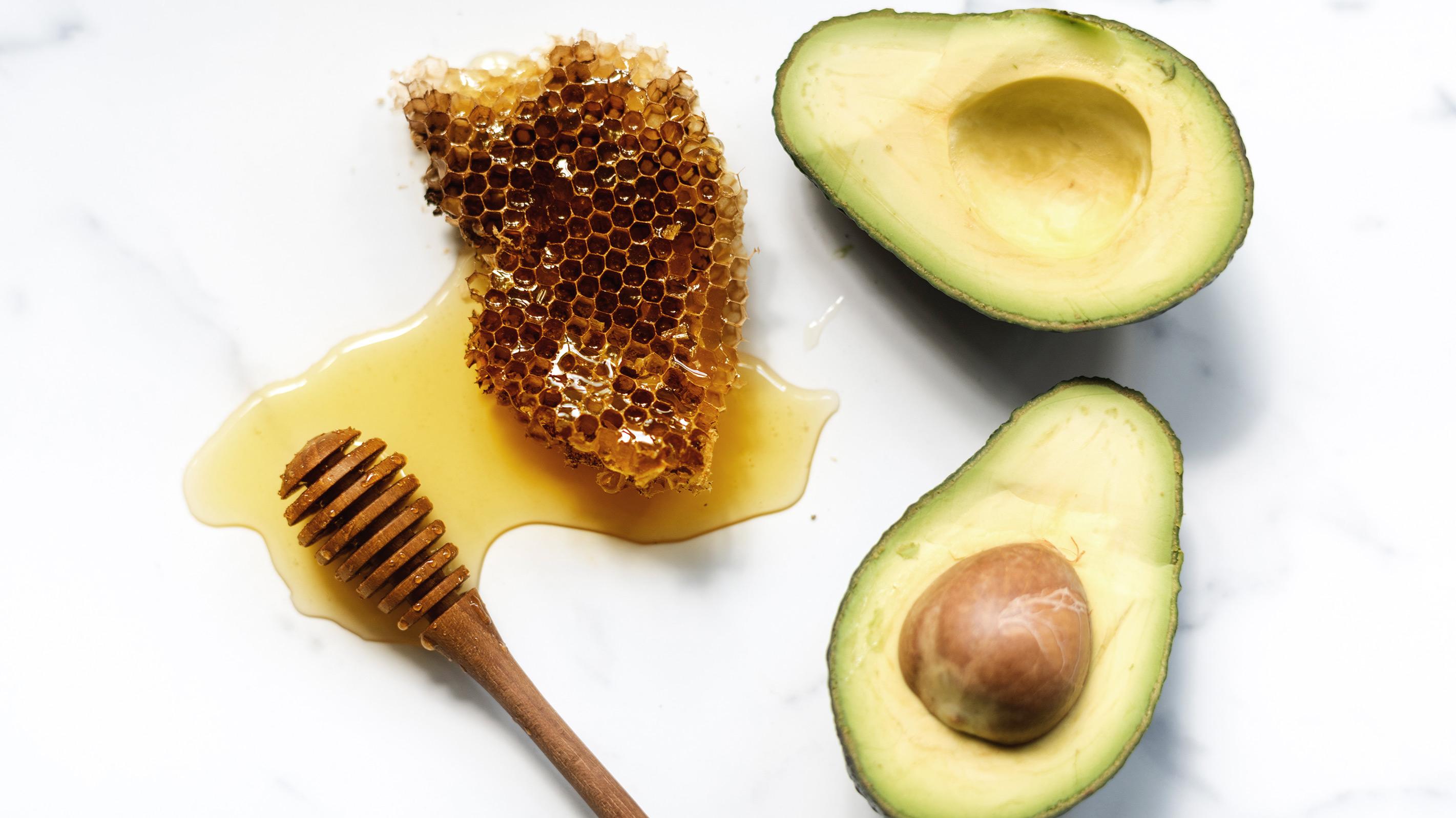 Avocado Honig Gesichtsmaske