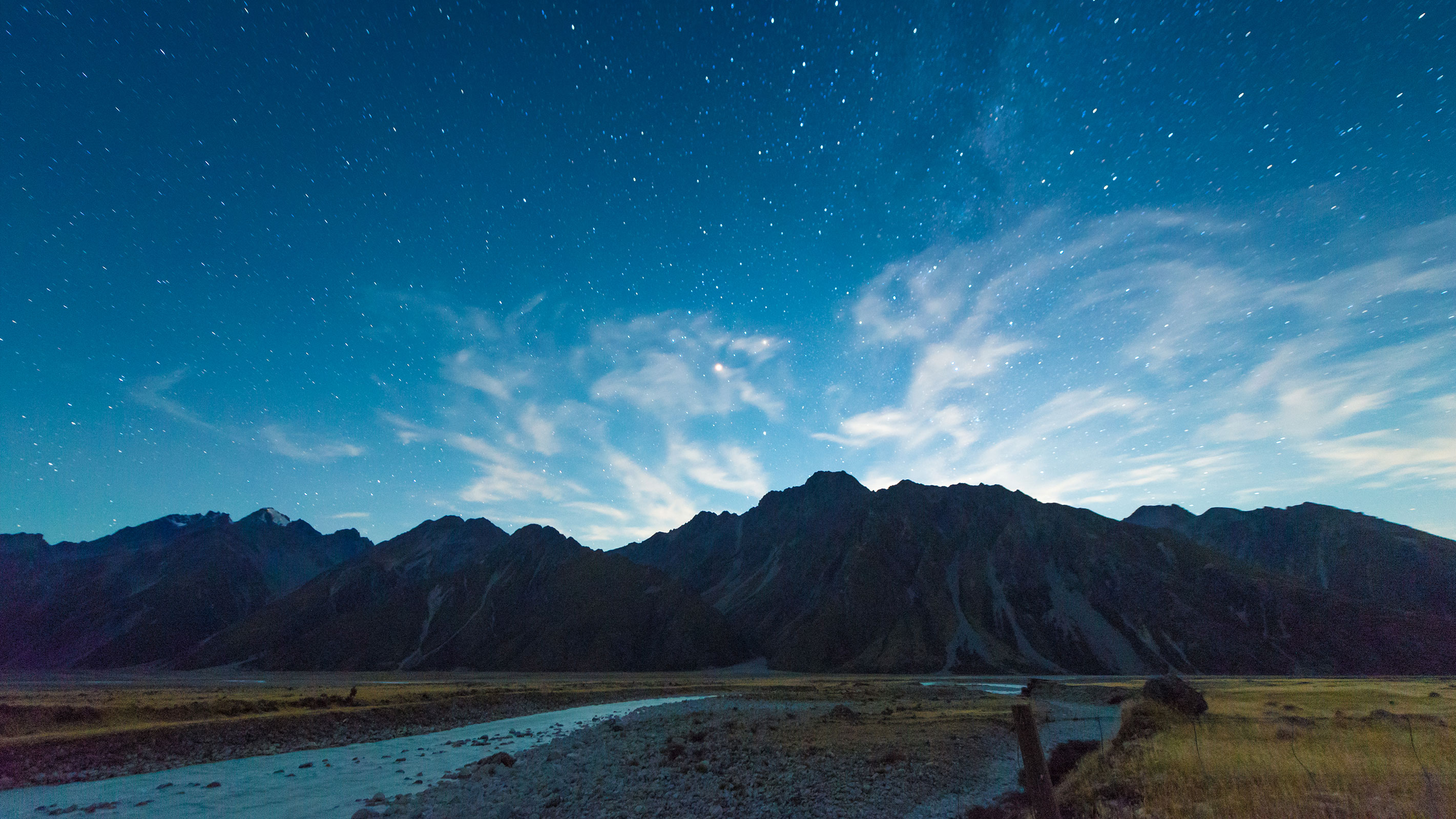 Sternenhimmel in Neuseeland