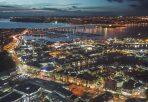 Lichtverschmutzung in der Stadt