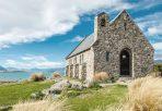 Kirche des Guten Hirten auf Neuseelands Südinsel am Lake Tekapo