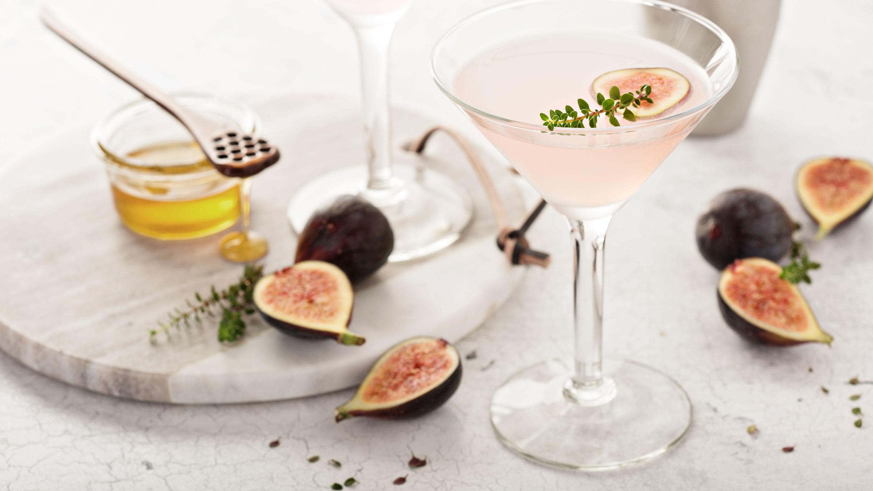 Pink Martine mit der Trendfrucht Feige
