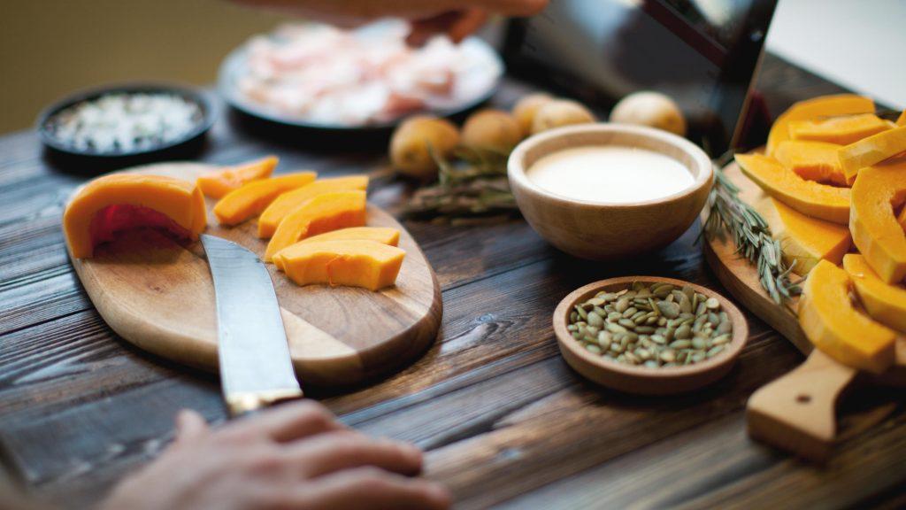 Gesunde Ernährung gegen den Herbstblues